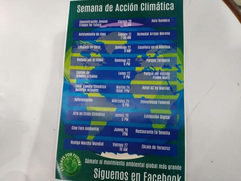 """Invitan a semana de """"Acción Climática"""""""