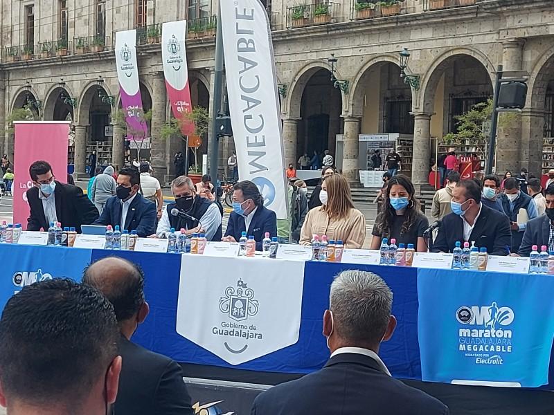 Maratón Guadalajara Megacable será el 12 de diciembre