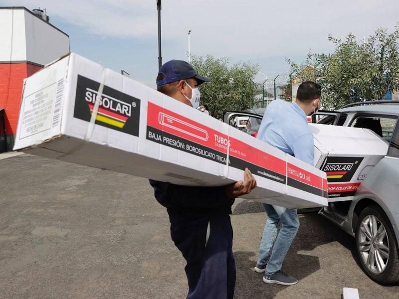 Invitan en Corregidora a tramitar calentadores solares