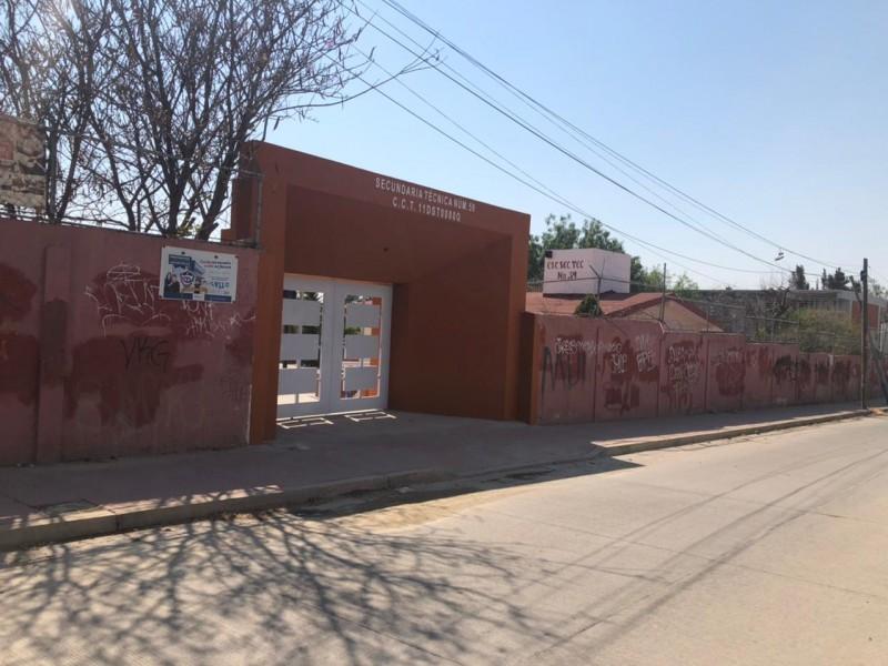 Inyectarán recurso para rehabilitar escuelas vandalizadas