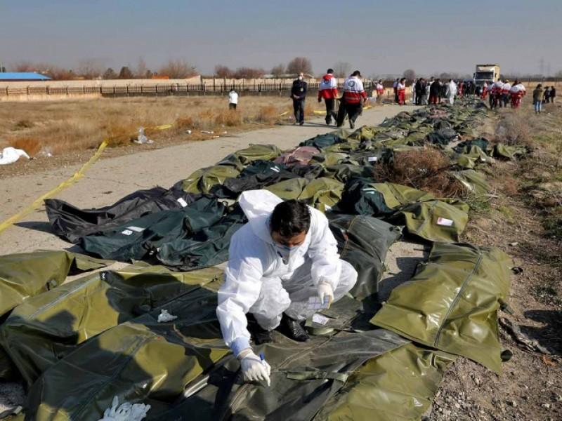 Irán descarta compartir cajas negras de avión derribado