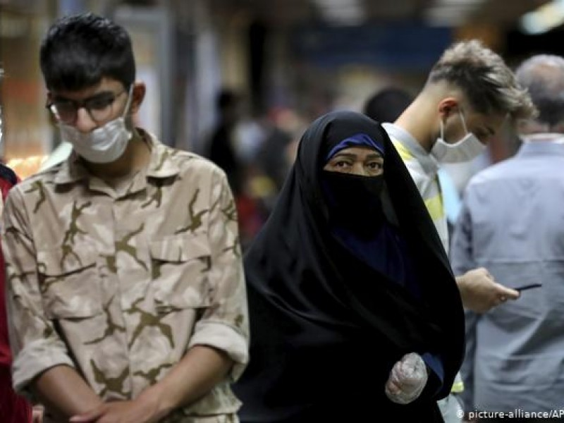 Irán reporta 13 mil 890 nuevos contagios Covid-19, nuevo récord