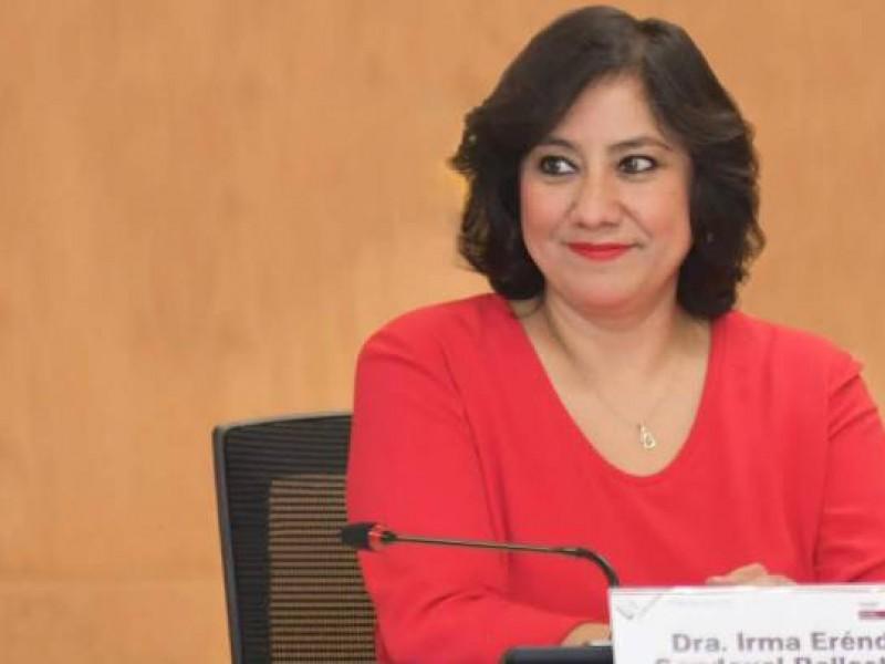 Irma Eréndida Sandoval, titular de SFP da positivo a Covid-19