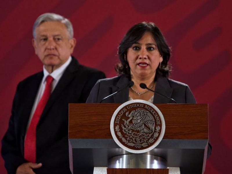 Irma Eréndira sale de la Secretaría de la Función Pública