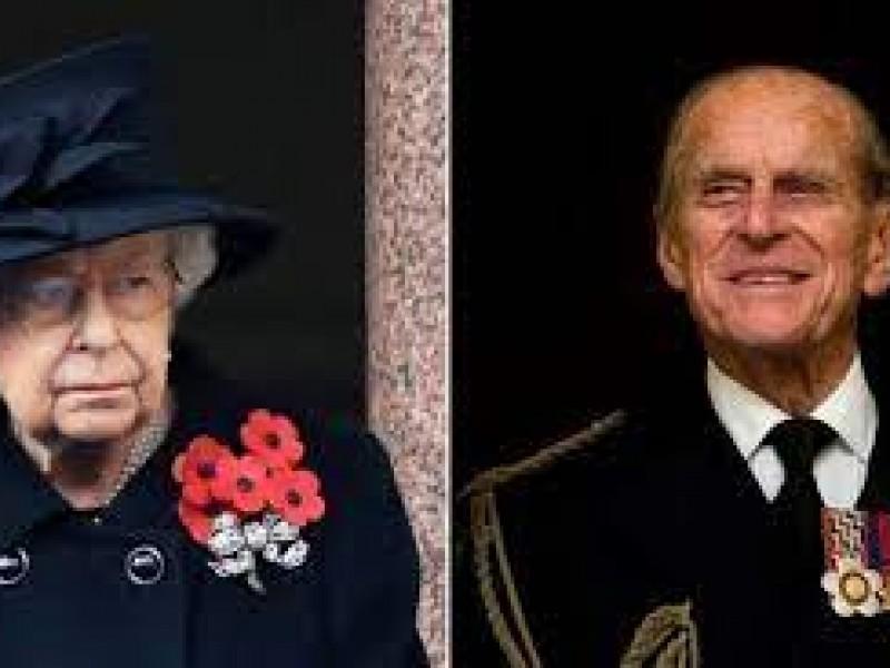 Isabel II entierra al príncipe Felipe