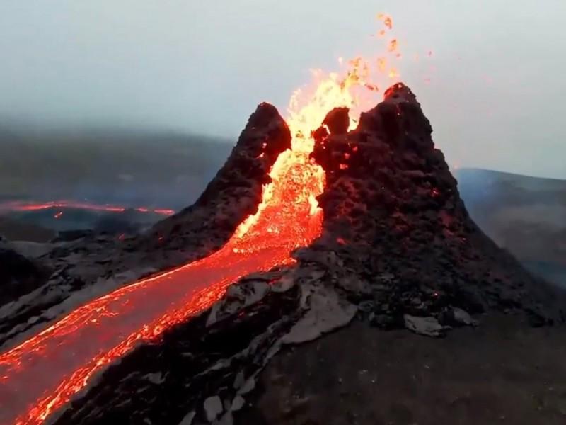 Islandia: Volcán hace erupción tras 800 años inactivo