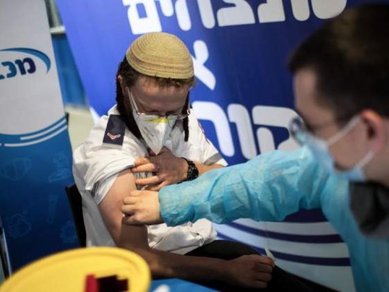 Israel amplía tercera dosis a población apta para vacuna