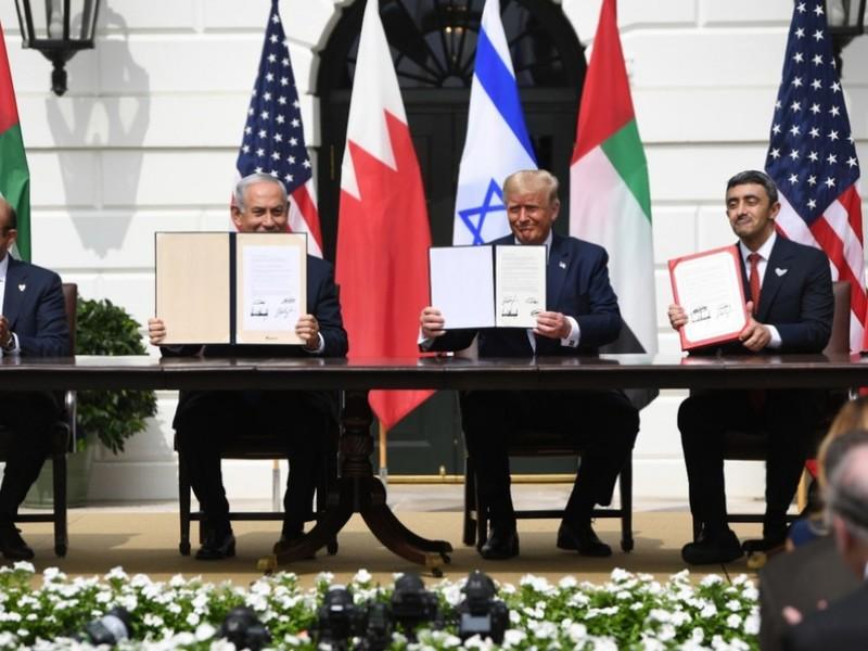 Israel firma histórico acuerdo de paz en la Casa Blanca