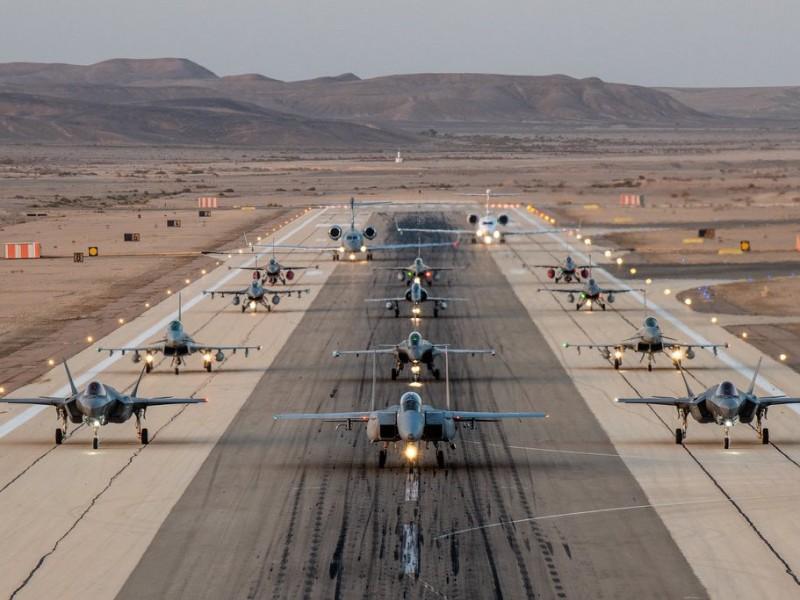Israel realiza su mayor ejercicio militar aéreo, reúne ocho naciones
