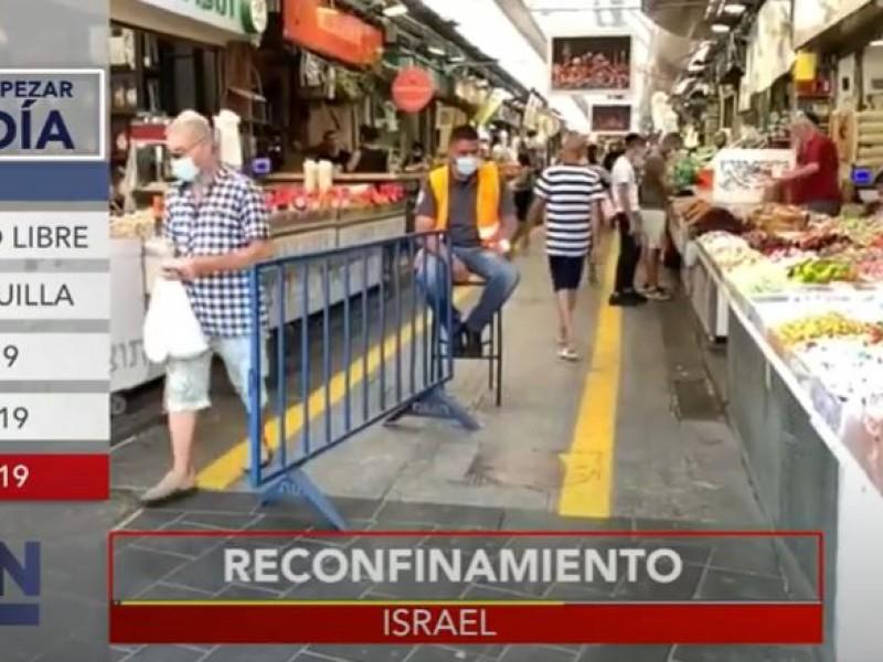 Israel se va a re-confinar por el coronavirus