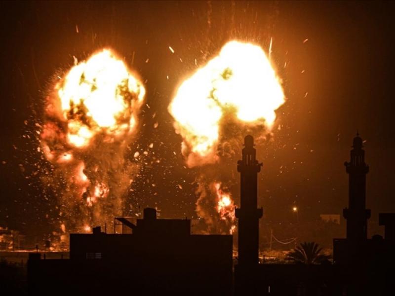 Israel vuelve a lanzar ataques aéreos contra Franja de Gaza