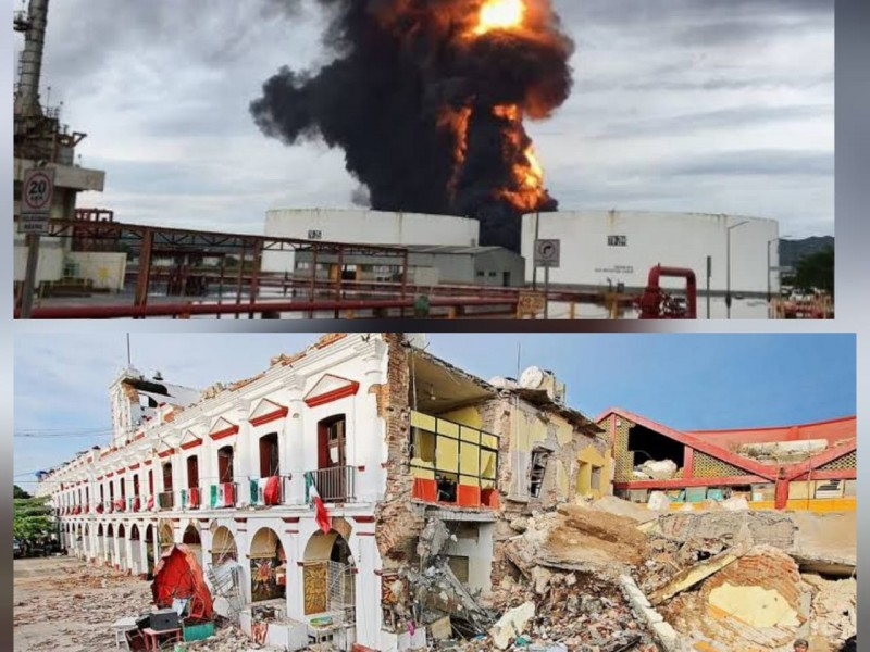Istmo de Tehuantepec, zona de catástrofes naturales e industriales