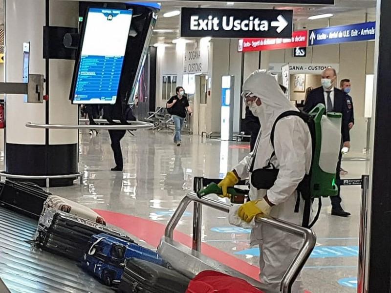 Italia detecta contagio con nueva cepa Covid-19 de Reino Unido