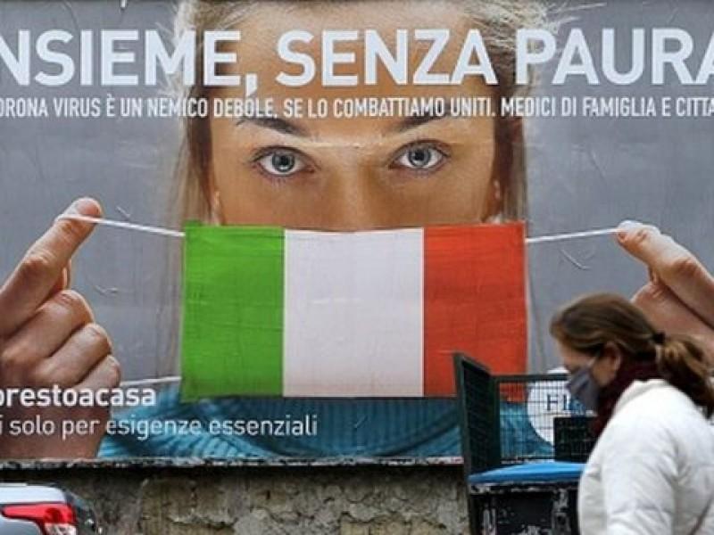 Italia registra nuevo récord Covid-19 con casi 41 mil positivos