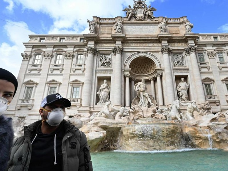 Italia registra récord Covid-19 con más de 31 mil casos