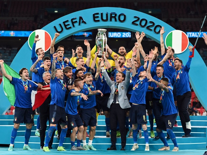 Italia también rompió sequía en la Eurocopa.