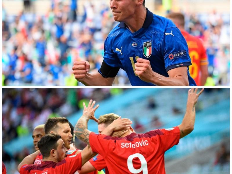 Italia y Gales avanzan en el grupo A