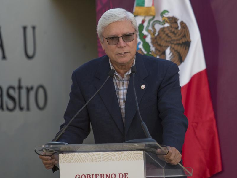 Jaime Bonilla, gobernador de Baja California, se contagia de Covid-19