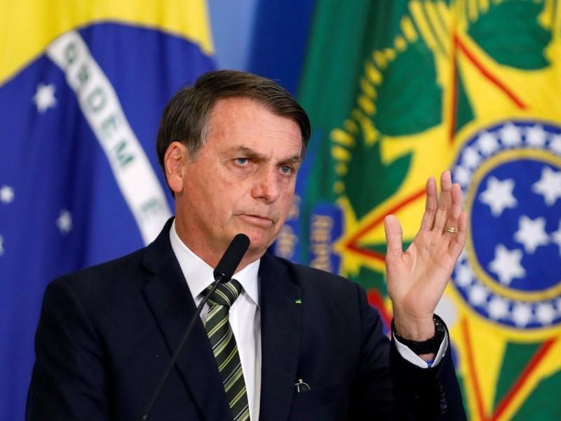 Jair Bolsonaro da positivo en primero prueba de coronavirus