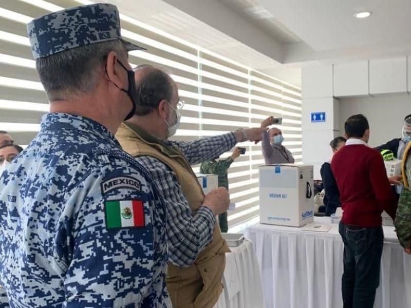 Jalisco ha recibido 61 mil 425 vacunas Pfizer para médicos