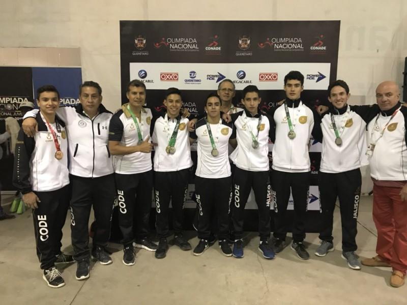 Jalisco conquista título 19 en Olimpiada Nacional