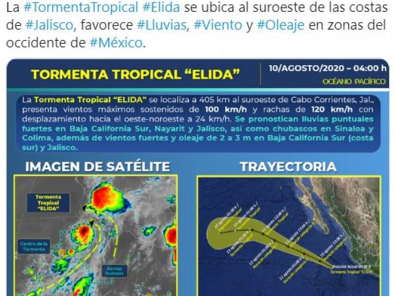 Jalisco y Nayarit se preparan para la tormenta