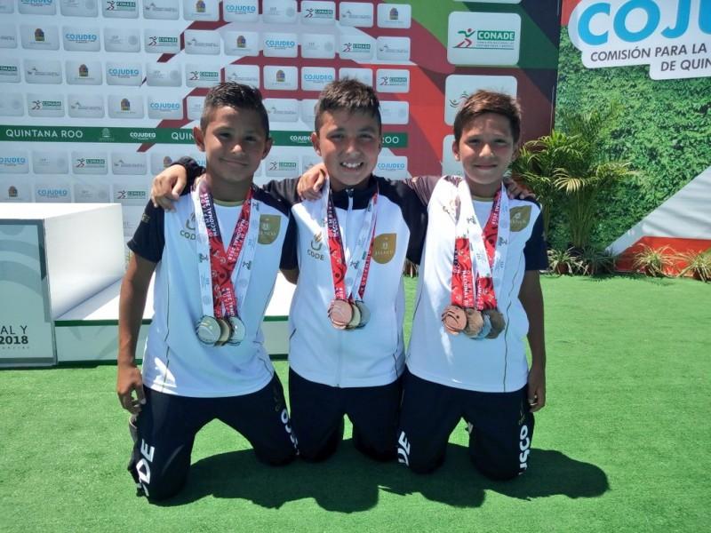 Jalisco lidera medallero en Olimpiada Nacional