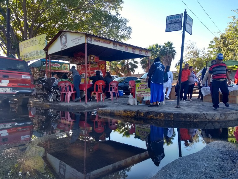 JAPAMA y Obras Públicas, omisas ante aguas negras