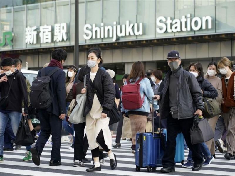 Japón continúa con alza de contagios por Covid-19