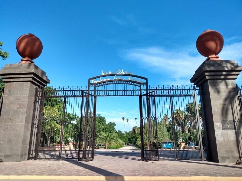 Jardín Botánico continúa operando en vacaciones