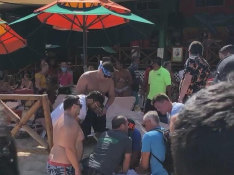 """Jet Ski provoca accidente en la playa """"El Médano"""""""