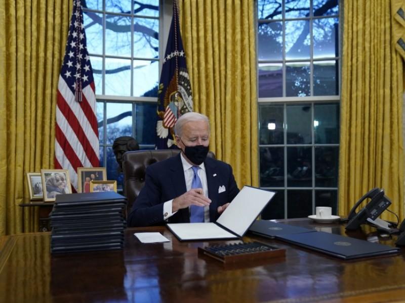 Joe Biden anuncia cuarentena para viajeros que lleguen a EU