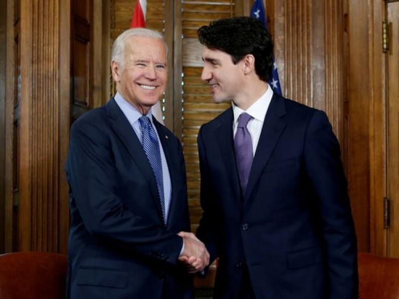 Joe Biden tendrá un llamada con Justin Trudeau