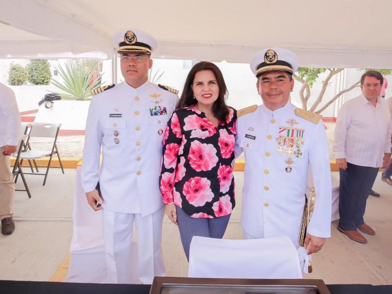 Jorge Medina Antonio, nuevo Comandante del sector naval