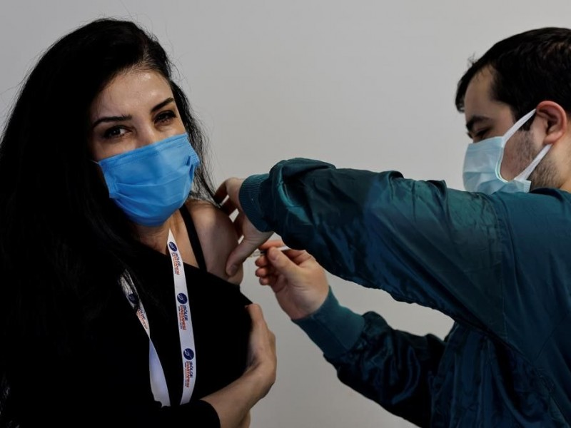 Jornada sabatina de vacunación contra covid-19