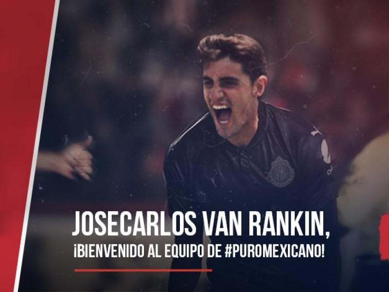 Josecarlos Van Rankin llega a Chivas