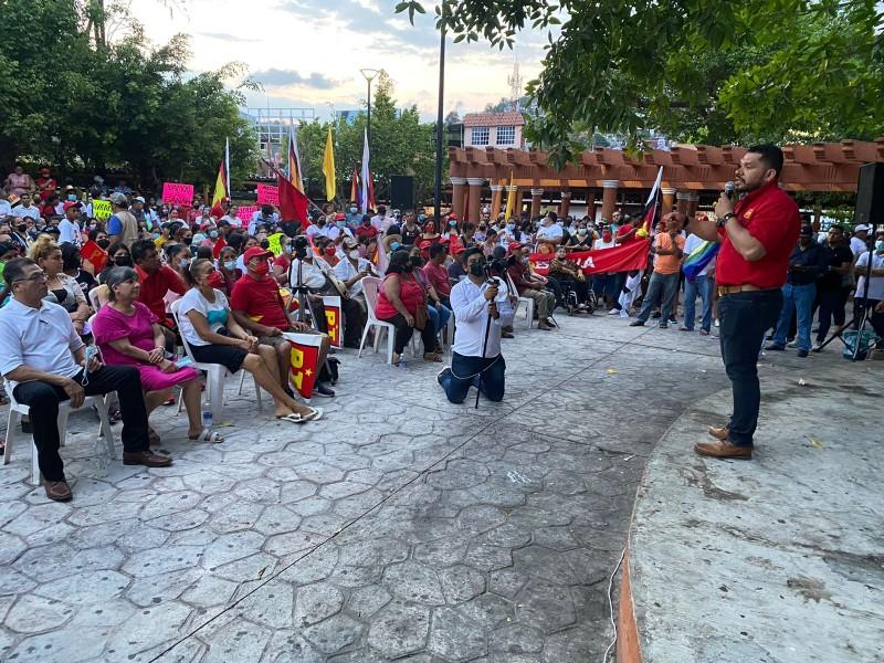 José Medel concluye campaña electoral a la alcaldía de Zihuatanejo