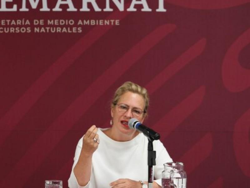 Josefa González renuncia como titular de la Semarnat