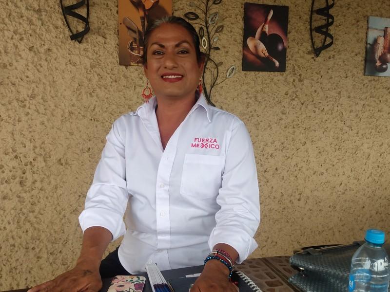 Joseline Sosa, primer candidata trans a diputada federal distrito 05