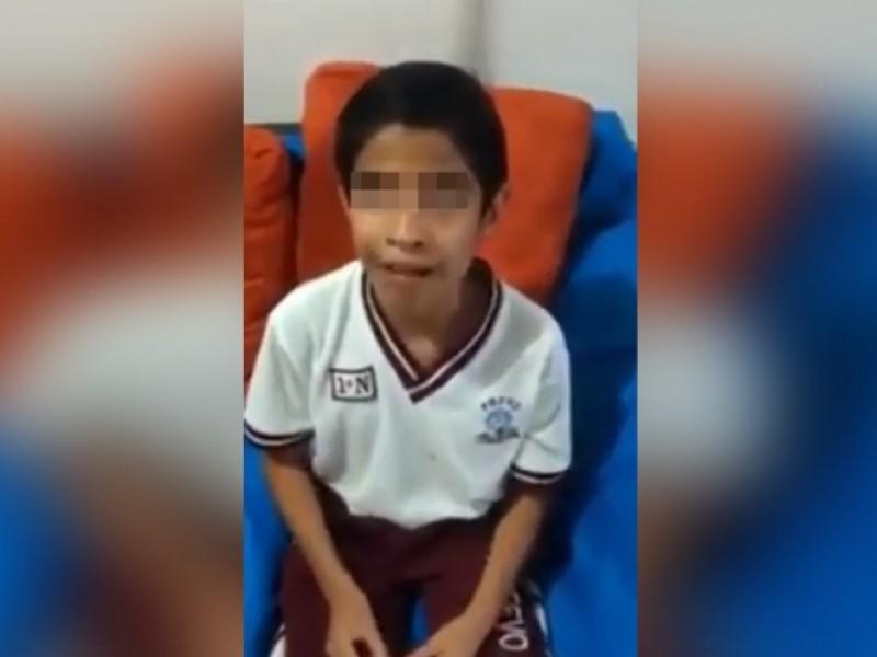 Joven estudiante ciego sufre de bullyng escolar