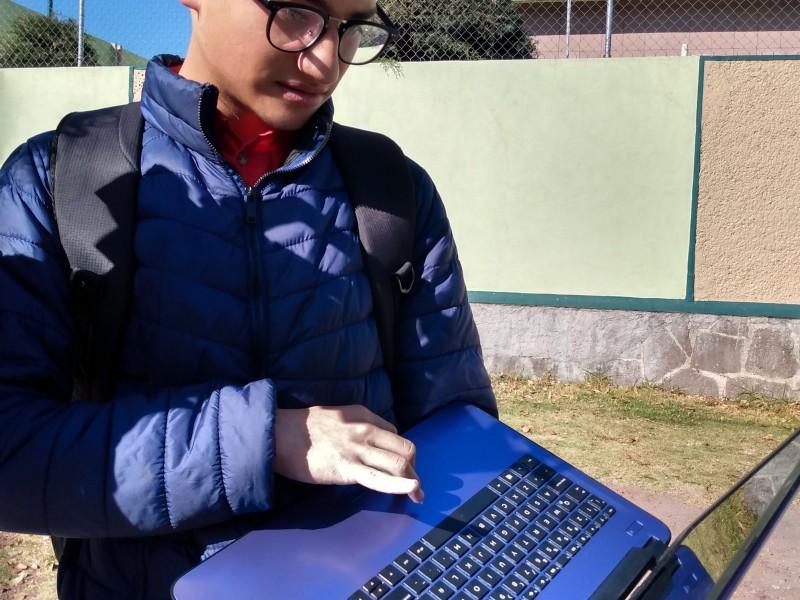 Jóven mexiquense elabora mapa digital del coronavirus