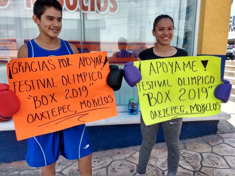 Jóvenes deportistas piden apoyo económico