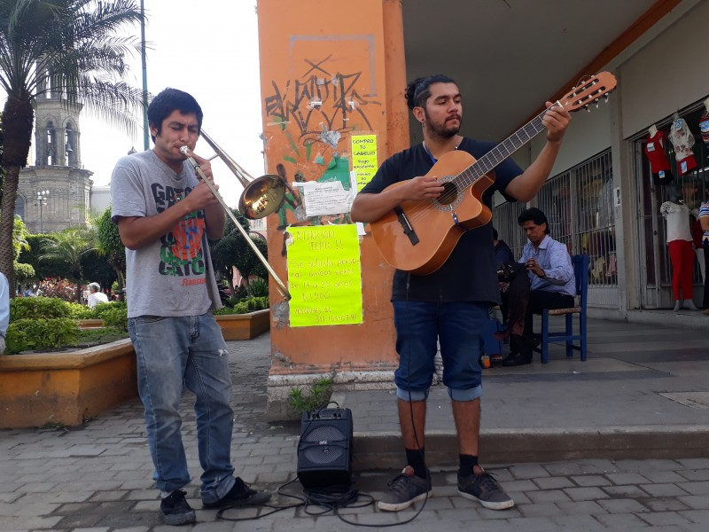Jóvenes nayaritas tocan música para combatir el crimen