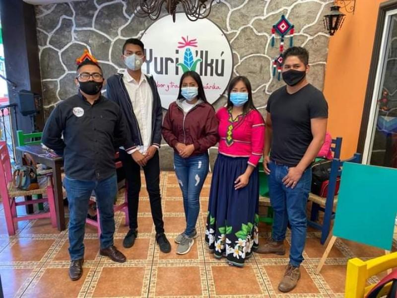Jóvenes organizan juguetón para comunidades indígenas