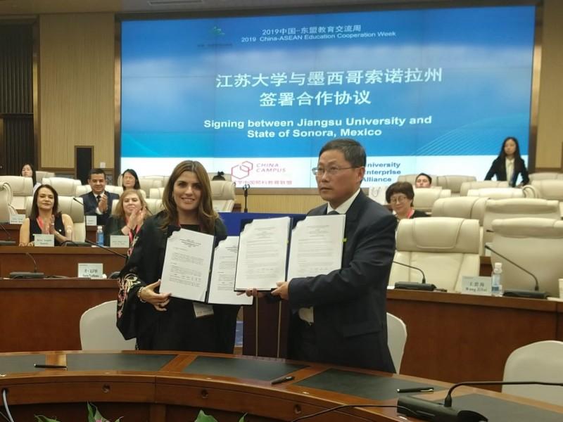 Jóvenes sonorenses se beneficiarán con intercambios en China