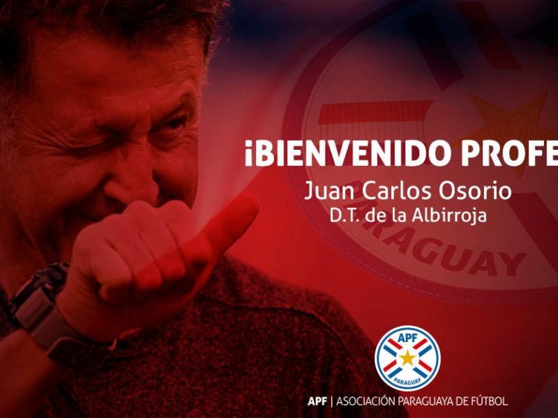 Juan Carlos Osorio presentado con Paraguay