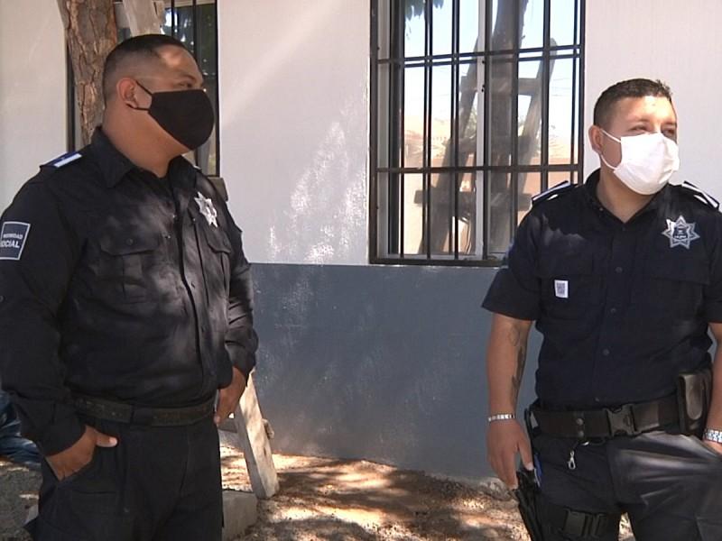 Juan Luis y Erick, los policías que atendieron un parto