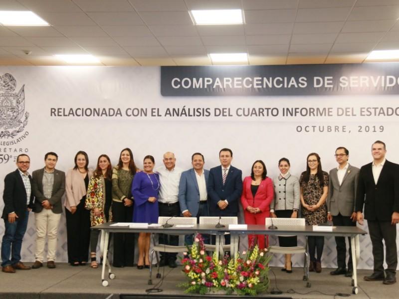 Juan Marcos Granados comparece ante legisladores locales