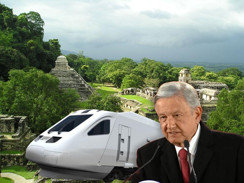 Juez federal otorga amparo contra Tren Maya en Palenque