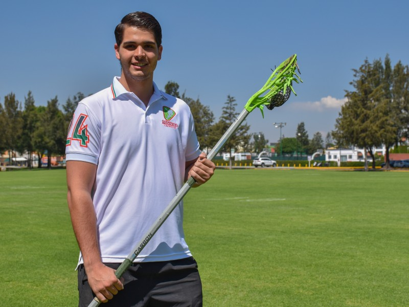 Jugador de lacrosse UDLAP planea jugar mundial